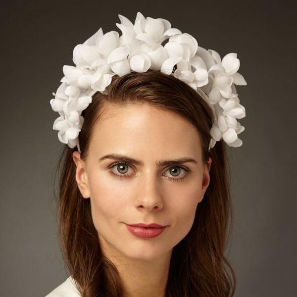 Genevieve Rose Flower Crown Schmalberg