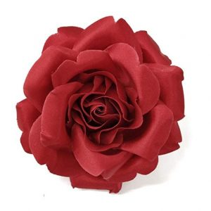 red satin rose