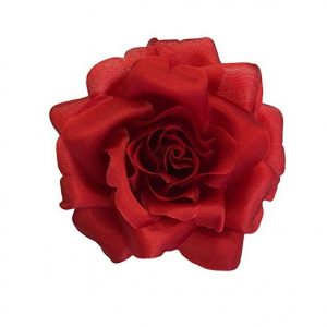 red silk rose