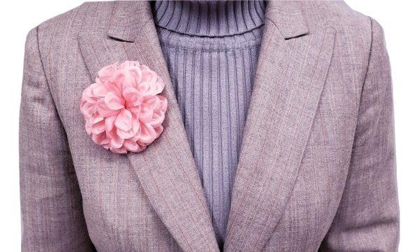 dahlia flower pin